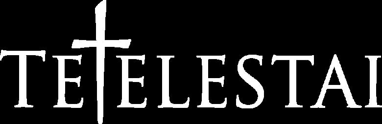 Tetelestai Logo White bi-ish
